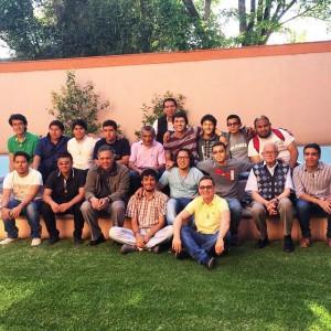 Hermanos y Formandos en los festejos del 80 aniversario de SLP